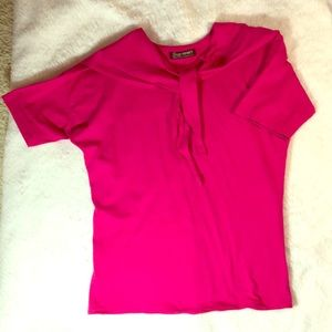 🎉 SZ L JazzySport Top Pink